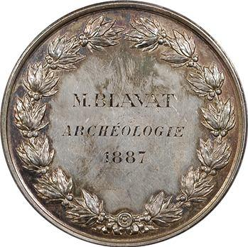 IIIe République, Reims, prix de l'Académie de Reims à M. Blavat, archéologue, 1887