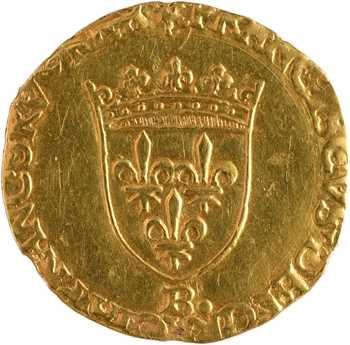 François Ier, écu d'or au soleil et à la petite croix, s.d. (juin 1540) Rouen