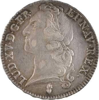 Louis XV, écu au bandeau, 1761 Tours