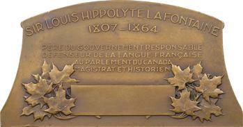 Canada, La Fontaine, défenseur de la langue française par J.-B. Lagacé, s.d. Paris