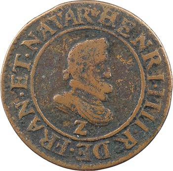 Henri IV, double tournois du Dauphiné au différent de Grenoble, 1608 (sur 1607 ?) Lyon