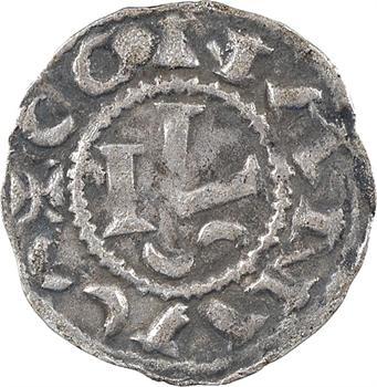 Bretagne (duché de), Conan III, denier, s.d. Rennes