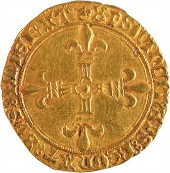 Charles VIII, écu d'or au soleil, 1re émission, Toulouse