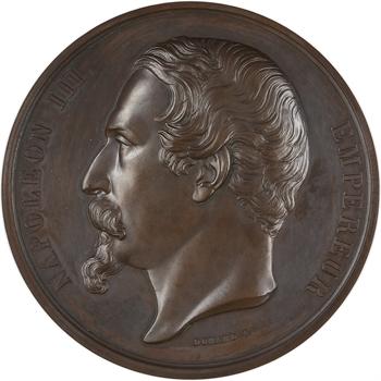 Second Empire, Exposition de Dijon, par Caqué et Domard, 1858 Paris PROOF