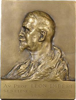 Médecine, docteur Léon Imbert par Gondard, 1937