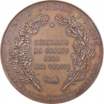 Louis-Philippe Ier, promulgation de la Charte constitutionnelle et avènement de Louis-Philippe Ier, 1830 Paris