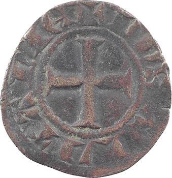 Aquitaine (duché d'), Édouard III, petit guyennois noir, s.d. (c.1340-1345) Poitiers ?