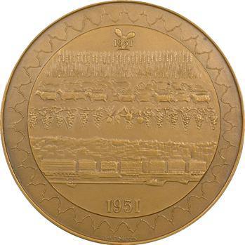 Algérie, coffret, centenaire de la Banque d'Algérie et Tunisie, par J.H. Coëffin, 1951 Paris