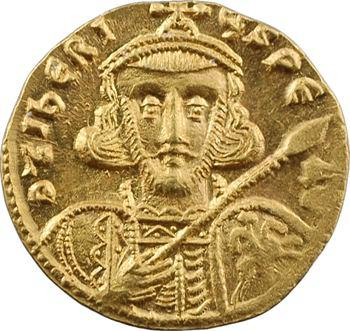 Tibère III, solidus, Constantinople, 10e officine, 698-705