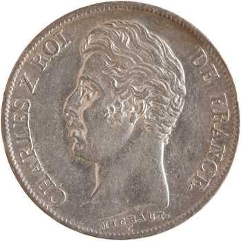 Charles X, 1 franc, 1829 Rouen