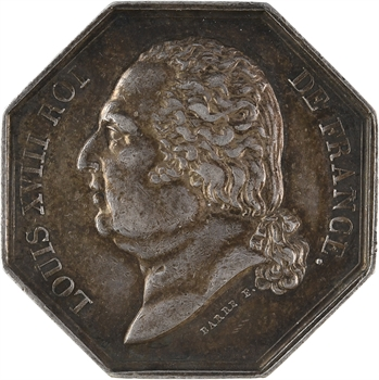 Louis XVIII, Chambre de Commerce de Lille, s.d. Paris