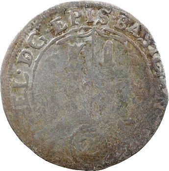 Suisse, évêché de Bâle, 2 batzen, 1624