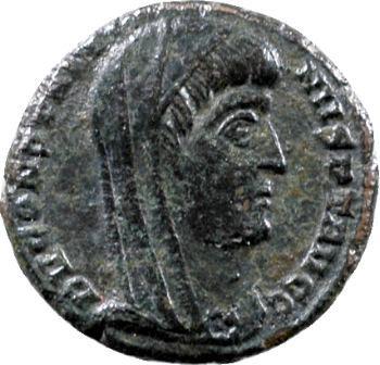 Divin Constantin Ier, nummus, Cyzique, 347-348