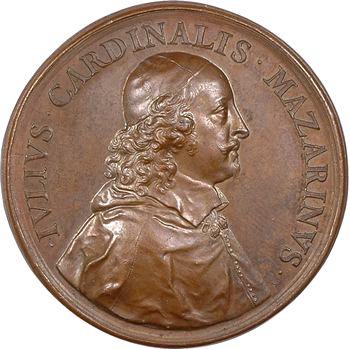 Mazarin (cardinal Jules de), la Paix des Pyrénées par Jean Warin, 1660 [postérieure ?] Paris