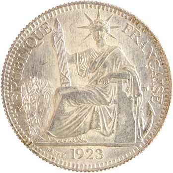 Indochine, 10 centièmes, 1923 Paris