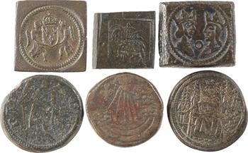 France et monde, lot de 12 poids monétaires