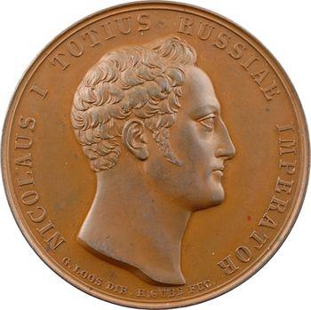 Russie, Nicolas Ier, la prise de Varna, par Gube, 1828