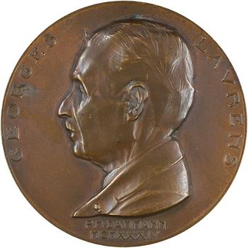 Dammann (P.-M.) : Georges Laurens, médecin oto-rhino-laryngologue, 1934 Paris