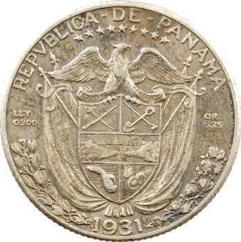 Panama (République de), 1/4 de balboa, 1931