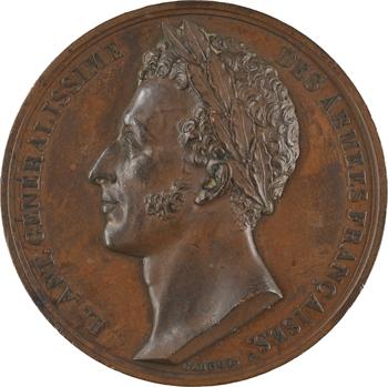 Louis-Antoine d'Artois duc d'Angoulême, refuse le titre de Prince du Trocadéro, 1823 Paris