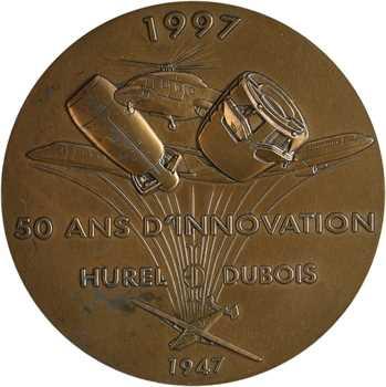 Aéronautique, cinquantenaire des établissements Hurel Dubois, 1947-1997 Paris