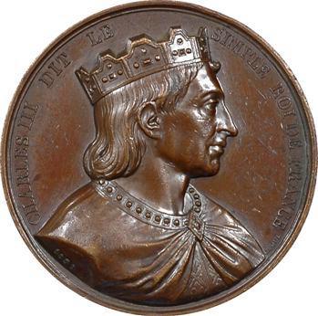 Charles III par Caqué, série des rois de France, 1839 Paris