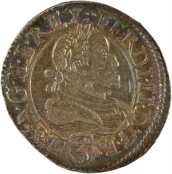 Autriche, Ferdinand II, 3 kreuzer, 1637 Graz ?