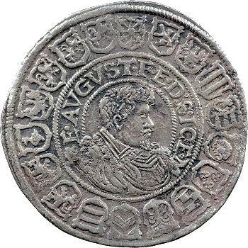 Allemagne, Saxe (duché de), Jean-Georges Ier et Auguste, thaler, 1613