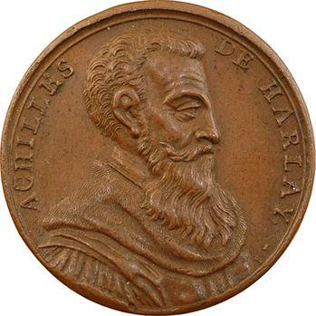 Achille de Harlay, médaille par J. Dassier