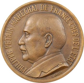 IIe Guerre Mondiale, le Maréchal Pétain, par F. Angeli, s.d. Paris