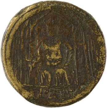 Philippe VI, poids monétaire du parisis d'or, s.d