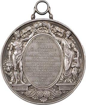 Louis Philippe Ier, médaille de sauvetage du Ministère de l'Intérieur, 1830 Paris