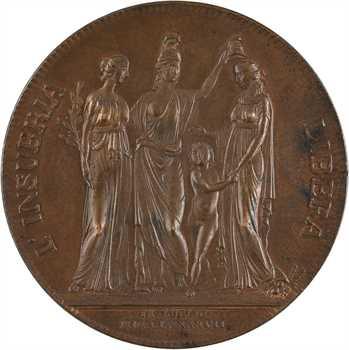 Italie, fondation de la République cisalpine, [par Vassallo], 1797 Milan