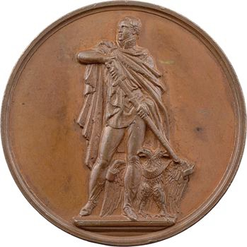 Russie, Alexandre Ier, érection de son monument à Charlottenbourg (Berlin), par Brandt, s.d. (1817)