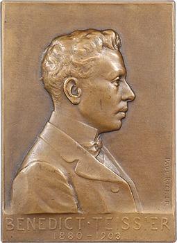 Égypte, le Docteur Benedict Teissier, par Richer, 1903 Paris