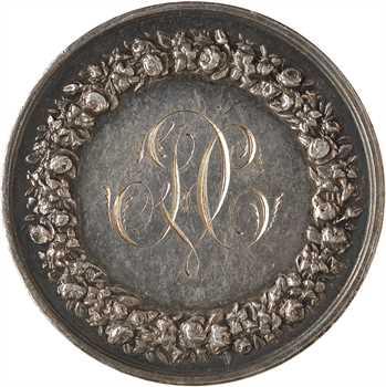 Louis-Philippe Ier, médaille de mariage, HEROUART et CARTIER, 1838 Paris