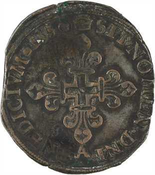 Henri II, gros de six blancs dit gros de Nesle (FRANCORVM), 1550 Paris