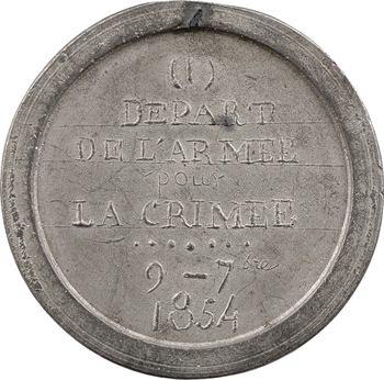 Russie, Guerre de Crimée, départ de l'Armée impériale française, 9 septembre 1854, N° I, 1854