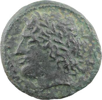 Sicile, Syracuse, Agathoklès, hémidrachme, c.317-310 av. J.-C.