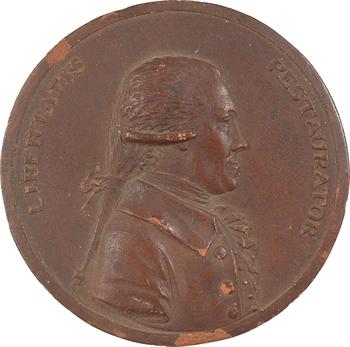 Pays-Bas, mort de Joan Derk van der Capellen tot den Pol, par Renaud, terre cuite, s.d. (1784)