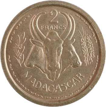 Madagascar, essai de 2 francs, 1948 Paris