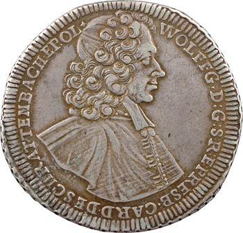 Autriche, Olmutz (évêché), Wolfgang de Schrattenbach, thaler, 1718