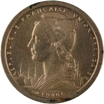A.E.F. Union française, essai de 1 franc, 1948 Paris