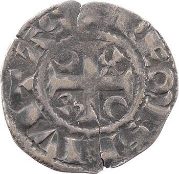Champagne, Reims (archevêché de), Albéric, denier, s.d. (1207-1218) Reims