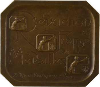 Charpentier (A. L. M.) : Duval et Janvier, réduction de médailles, N° 21, s.d (c.1900) Paris
