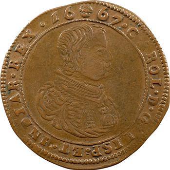 Pays-Bas méridionaux, Charleroi, la citadelle, 1667