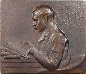 Charpentier (A. L. M.) : Albert Carré, comédien, fonte uniface, s.d. Paris