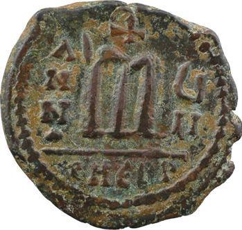 Phocas, follis (40 Nummi), An VII (608-609) Théoupolis (Antioche)