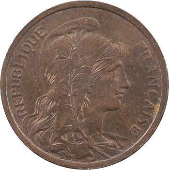 IIIe République, 2 centimes Daniel-Dupuis, 1907 Paris