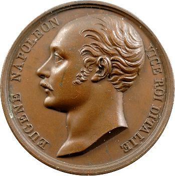Premier Empire, Eugène Napoléon, bataille de Raab, 1809 Paris